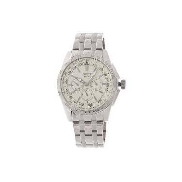 Relógio de Pulso Guess Metal Shoptime   Joalheria   Comparar preço de  Relógio de Pulso - Zoom 887f3a64ae