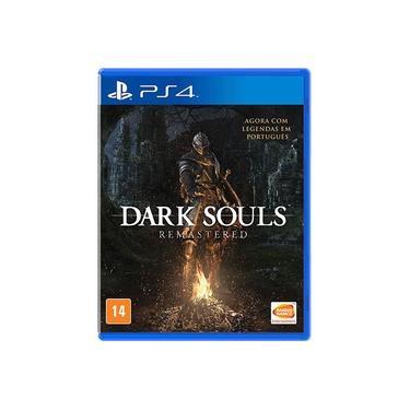 Jogo Mídia Física Dark Souls Remasterizado Para Ps4