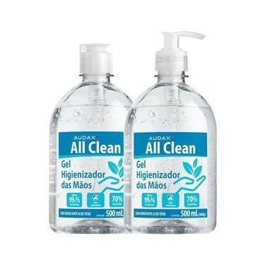 Álcool Gel Audax All Clean 70% - 500Ml