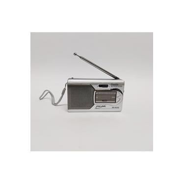 Mini Radio Portátil Am Fm A Pilha De Bolso Original