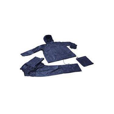 Conjunto Jaqueta Calça Impermeável Nautika Scott GG Azul
