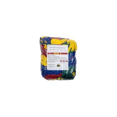 Imagem de Rede de Proteção Colorida Canguri p/ Cama Elástica de 2,44m