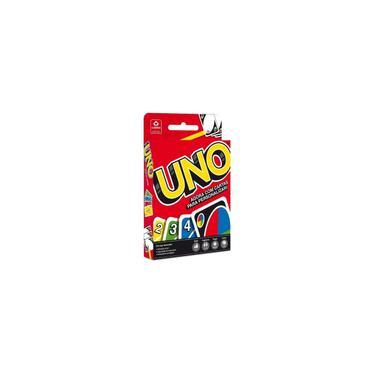 Imagem de Copag Jogo De Cartas Baralho Mattel Games Uno 114 Cartas