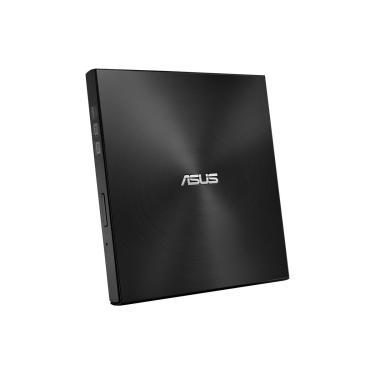 Gravador DVD Externo Asus Ultra Slim - Portátil - USB - Preto - SDRW-08U7M-U