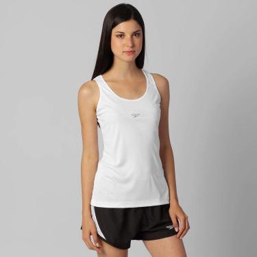 Speedo Longa Plus UV 50 Regata, Mulheres, Branco, G
