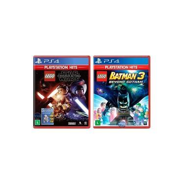 LEGO Star Wars: O Despertar da Força + LEGO Batman 3 Beyond Gotham - PS4