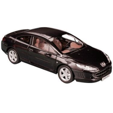 Imagem de Peugeot 407 Black 1/18 Diecast Model Car by Norev
