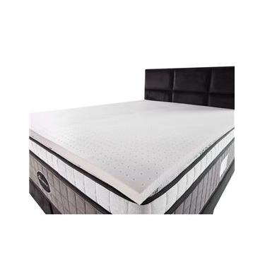 Imagem de Pillow Top de Látex Espuma King 100% Natural 3,5cm - BF Colchões