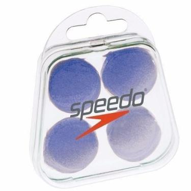 Protetor De Ouvido Speedo Soft 537367-080, Cor: Azul, Tamanho: U
