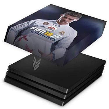 Capa Anti Poeira para PS4 Pro - Fifa 18