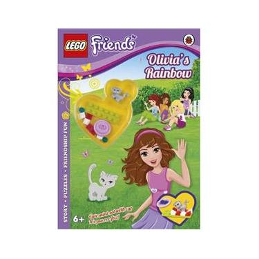 Imagem de Olivia`s Rainbow - Lego Friends - Activity Book With Mini-Set