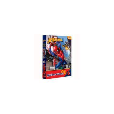 Imagem de Quebra-cabeça 100 Pcs Homem Aranha 8013 Toyster