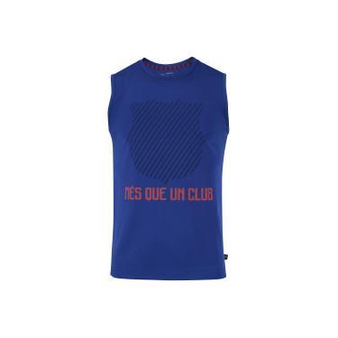 Camiseta Regata Barcelona Um Club - Masculina - AZUL ESCURO Barcelona da594c5c7dcb4