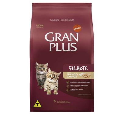 Ração Affinity PetCare GranPlus Frango e Arroz para Gatos Filhotes - 3 Kg