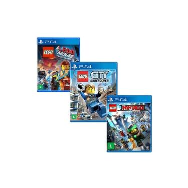 Lego Ninjago + Lego The Movie + Lego City Undercover - PS4