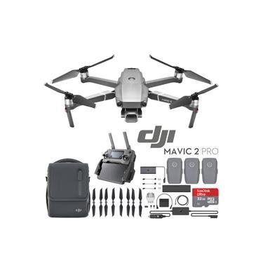 Imagem de Drone Dji Mavic 2 Pro Combo fly  Mavic2 Pro 32GB  kit combo 3 baterias Anatel