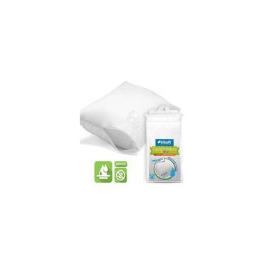 Imagem de Protetor de Travesseiro Baby Impermeável Capa Trisoft 100% Algodão 200 Fios Antialérgico Antiácaro