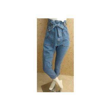 Calça Jeans Clochard Cintura Alta Lady Rock 11015
