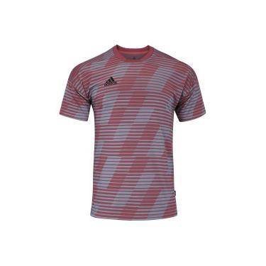 5f2148aef44b7 Camisa adidas Tango - Masculina - Coral adidas