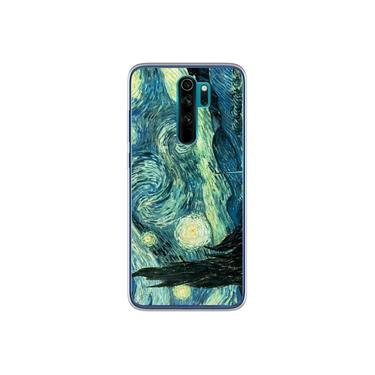 Capa para Xiaomi Redmi Note 8 Pro - Arte   Van Gogh - A Noite Estrelada