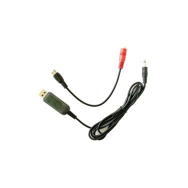 KS1000 22 em 1 simulador de vôo RC com cabo USB Dongle para transmissor Flysky