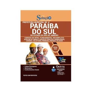 Imagem de Apostila Prefeitura Paraíba Do Sul Rj Fundamental Incompleto