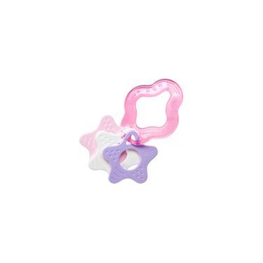 Imagem de Mordedor infantil clean c/estrela rosa