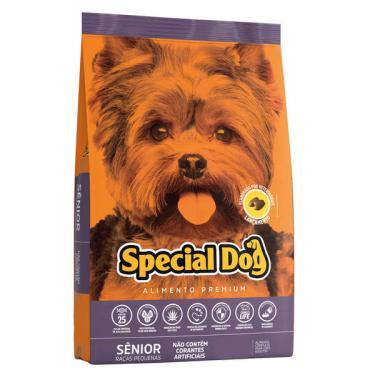 Ração Special Dog Sênior Premium para Cães Adultos de Raças Pequenas - 15 Kg