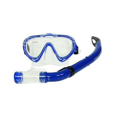 Kit Mormaii Máscara E Snorkel Oasis Infantil