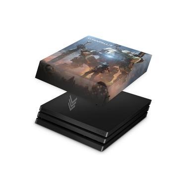 Capa Anti Poeira para PS4 Pro - Titanfall 2 #b