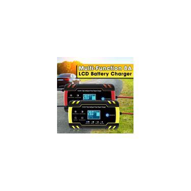 12V / 24V Multi-Function 2-150AH 8A Interruptor de toque Tela Reparação de pulso lcd Carregador de bateria para carro / motocicleta / veículos principais / caminhõesAGM / gel / ácido de chumbo