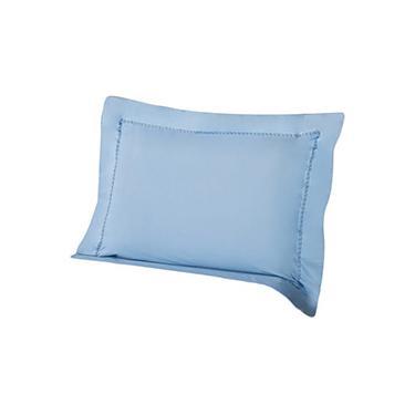 Imagem de Fronha Travesseiro de Corpo Premium Percal 233 Fios 50x150cm Sky Blue - Plumasul