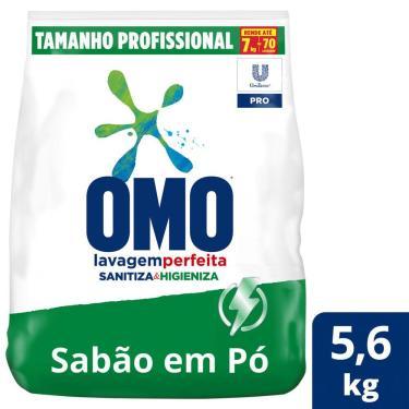 Imagem de Sabão em Pó Omo Profissional Sanitiza e Higieniza 5,6kg