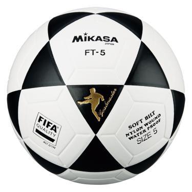 Bola de futevôlei Mikasa FT-5 FIFA - Branco/Preto