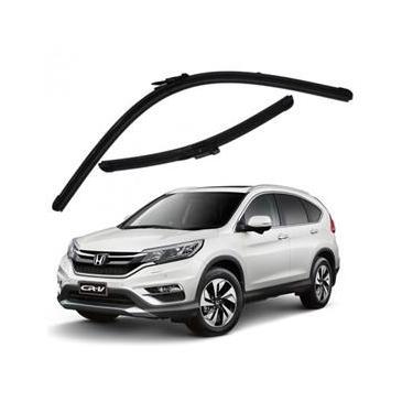 Kit Palhetas Limpador de Parabrisa Dianteiro Honda CR-V Ano 2013 - Atual