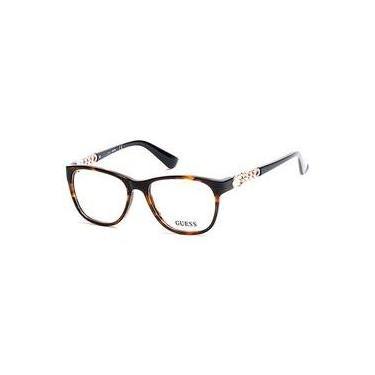 30414497a6c15 Óculos De Grau Guess Gu 2559 52 - Tartaruga preto