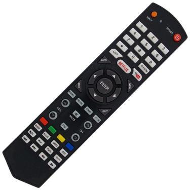 Controle Remoto Tv Led Semp Toshiba Ct-8063 / 40l2500 / 43l2500 Teclas Netflix e Youtube