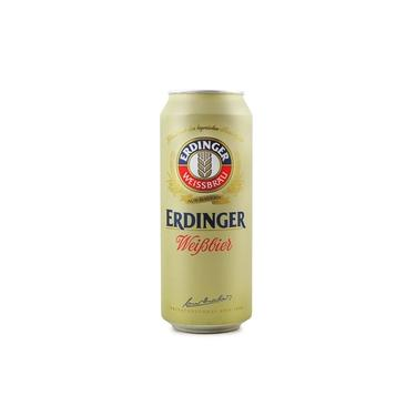 Cerveja alemã Erdinger Weissbier Lata 500ml