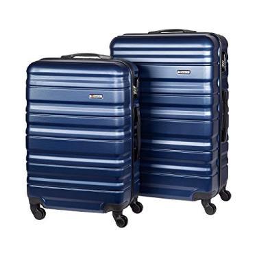 Imagem de Conjunto de Malas Travelux Geneva M e G Azul Escuro