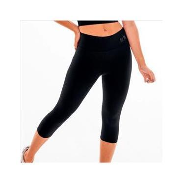 Imagem de Calça legging M corsário fitness academia BYG Ring Preto