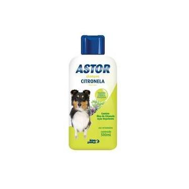 Shampoo Citronela Astor Mundo Animal - 500 Ml