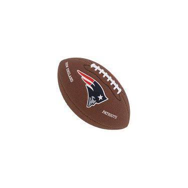 Bola De Futebol Americano Patriots Nfl Team Tradicional Wilson 4df44ff312d16