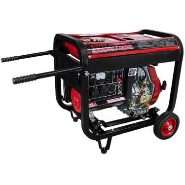 Gerador de Energia a Diesel 6 KVA Monofásico Partida Elétrica - ND7100E
