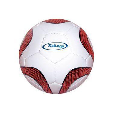 3c414e59233a0 Bola De Futebol De Campo Soccer Ball Branca laranja Xalingo