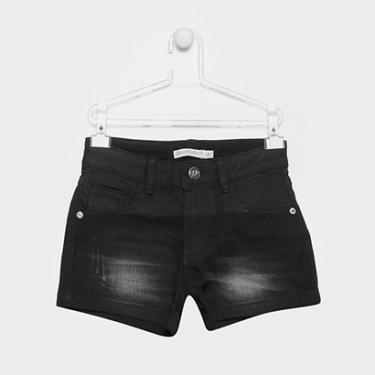 Short Jeans Infantil Lilica Ripilica Estonada Feminina - Feminino 7aea93b3855