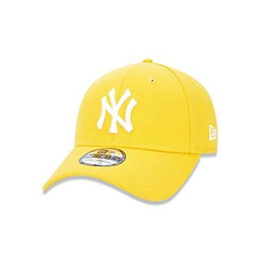 BONE 3930 NEW YORK YANKEES MLB ABA CURVA AMARELO NEW ERA c86566591ab