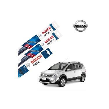 Palheta Nissan Livina 2009-2016 Dianteiro Traseiro Bosch