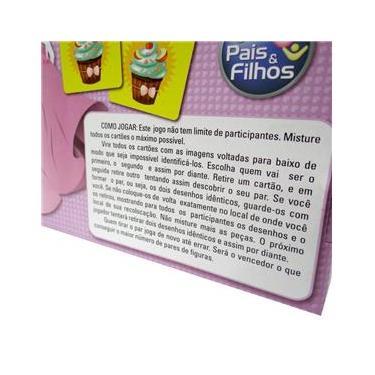 Imagem de Jogo da Memoria Princesas 40PECAS