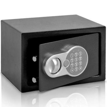 Imagem de Cofre Eletrônico Digital Teclado Com Senha + 2 Chaves 31X20 - Importwa