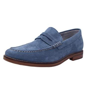 Mocassim masculino Sperry Gold Cup Exeter Penny, Blue Mirage, 8 Wide
